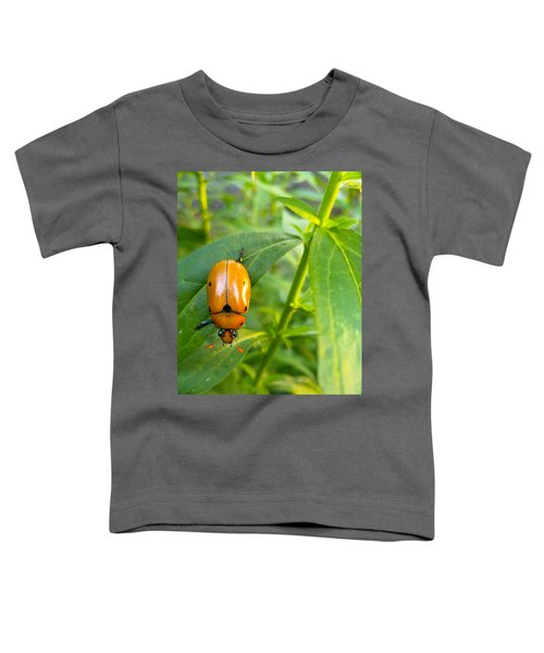 Toddler T-Shirt featuring the photograph June Bug by Carl Young