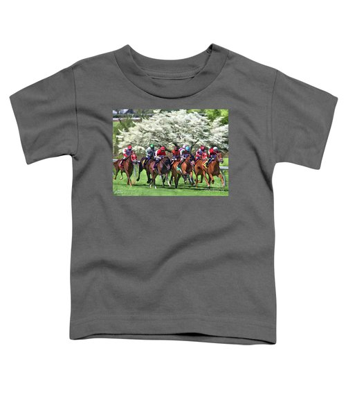 Keeneland Down The Stretch Toddler T-Shirt