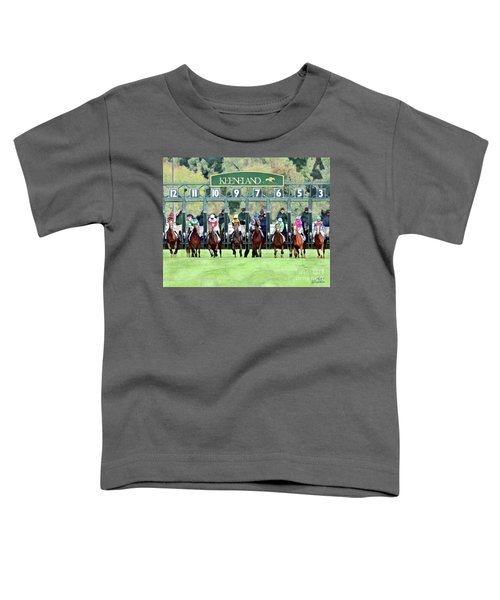 Keeneland Starting Gate Toddler T-Shirt