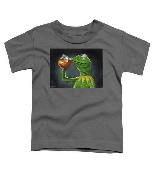 Kermit The Frog Of The Muppet Show Sesame Street  Toddler T-Shirt