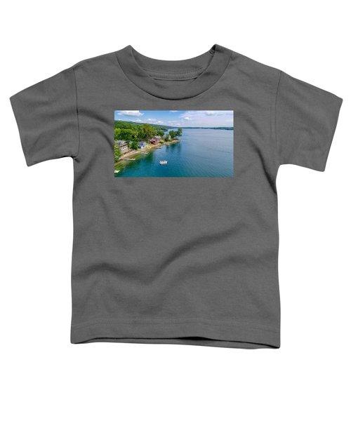 Keuka Boat Day Toddler T-Shirt