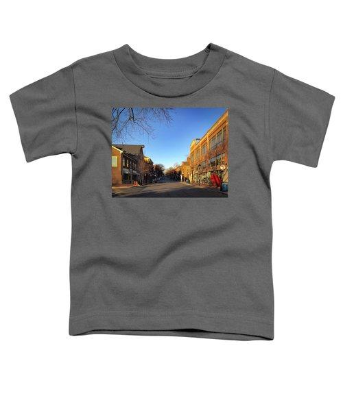 King Street Sunrise Toddler T-Shirt
