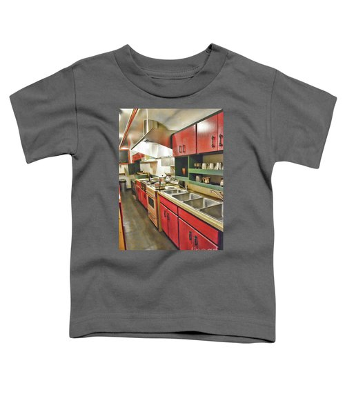 Kitchen Car Toddler T-Shirt