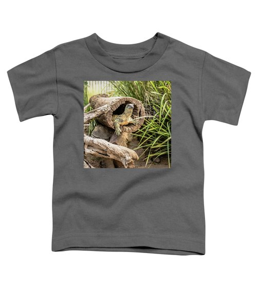 Lace Monitor During The Day. Toddler T-Shirt