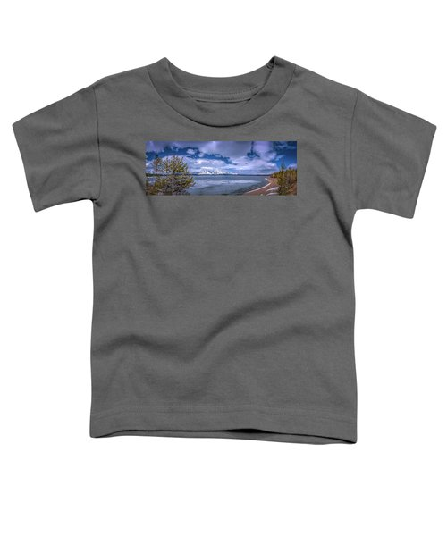 Lake Jackson Wyoming Toddler T-Shirt