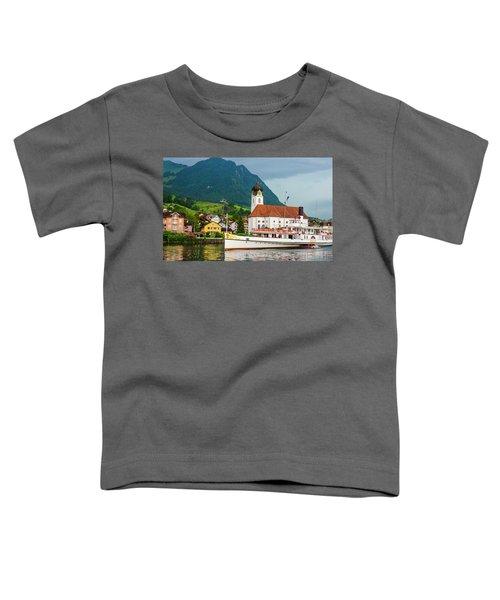 Lake Lucerne Steamer Toddler T-Shirt