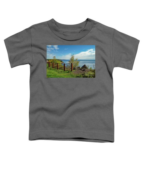 Lake Superior Overlook Toddler T-Shirt