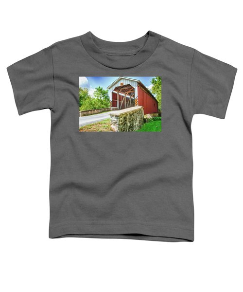 Lancaster Covered Bridge Toddler T-Shirt
