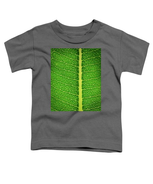 Leafy Detail Toddler T-Shirt