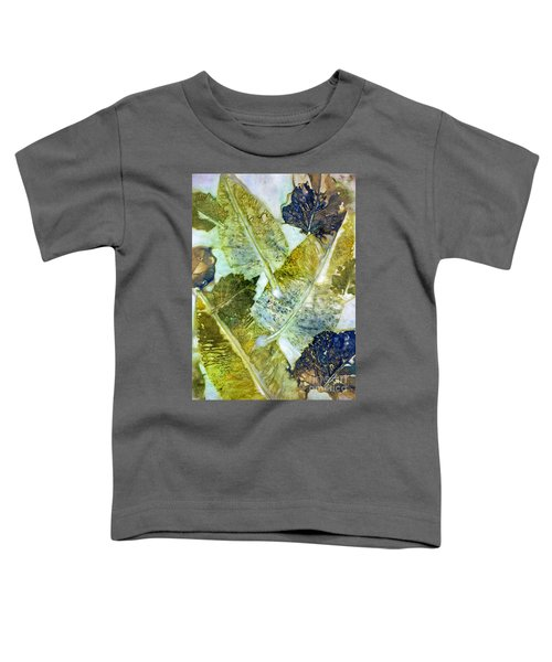 Leaves Of Nature Eco Dyed Print Toddler T-Shirt