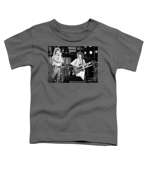 Led Zeppelin Jimmy Page Robert Plant  Toddler T-Shirt