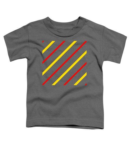 Line Or Stripe Design In A Modern Look - Dde578 Toddler T-Shirt