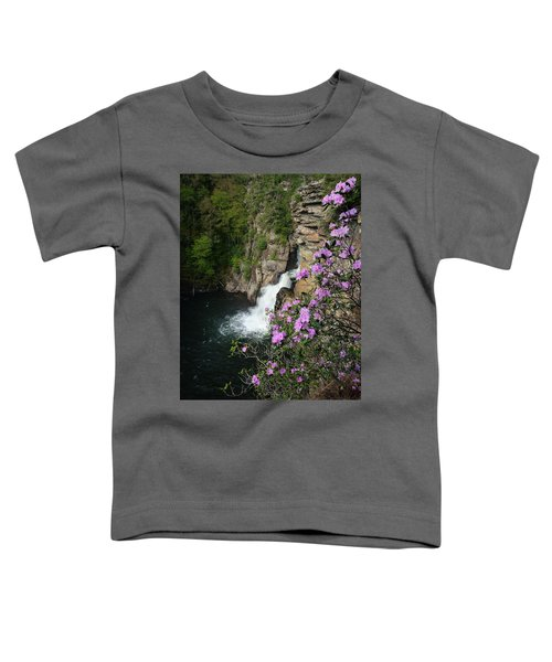 Linville Falls Carolina Rhododendron Toddler T-Shirt