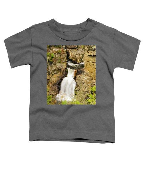 Linville Falls - Closeup Toddler T-Shirt