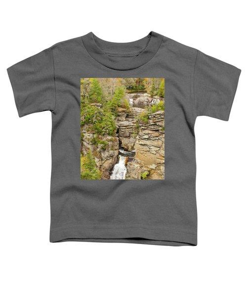 Linville Falls - Vertical Toddler T-Shirt