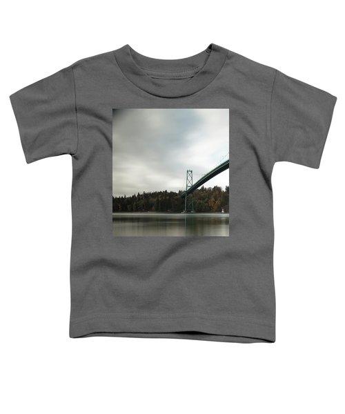 Lions Gate Bridge Vancouver Toddler T-Shirt