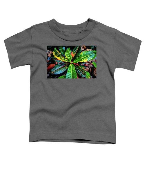 Liquid Tropical Colors Toddler T-Shirt