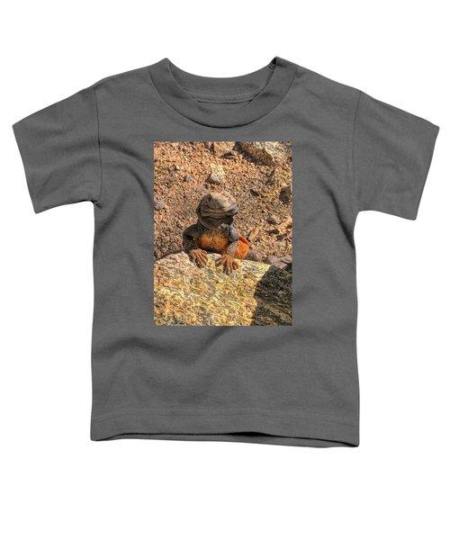 Lizard Portrait  Toddler T-Shirt