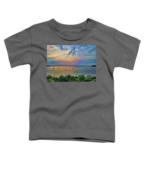 Long Island Sound From Glen Cove Toddler T-Shirt