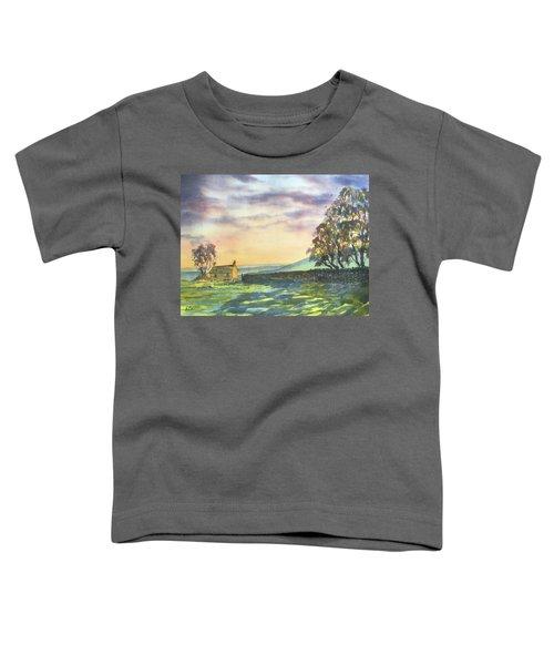 Long Shadows At Sunset Toddler T-Shirt