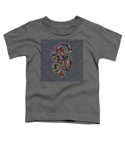 Louis Vuitton Dollar Sign-9 Toddler T-Shirt
