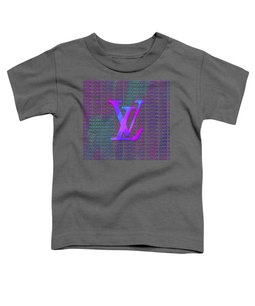 Louis Vuitton Paint Design Toddler T-Shirt