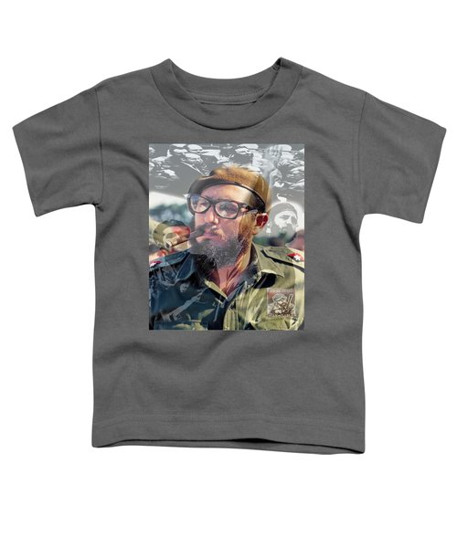 Loved Fidel Toddler T-Shirt