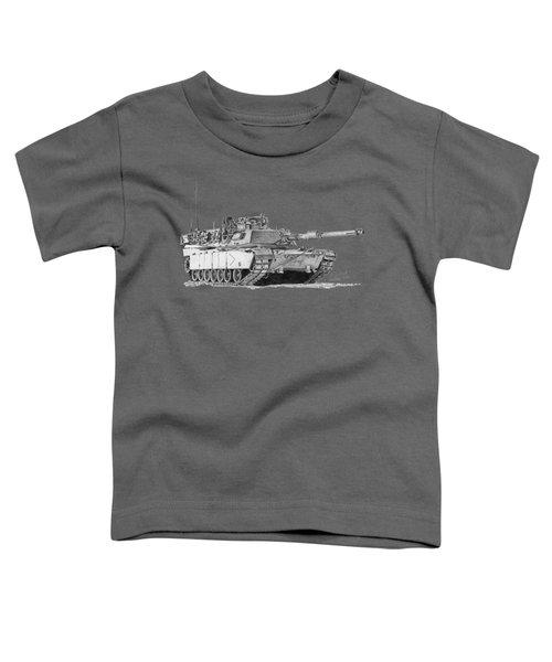 M1a1 B Company Commander Tank Toddler T-Shirt