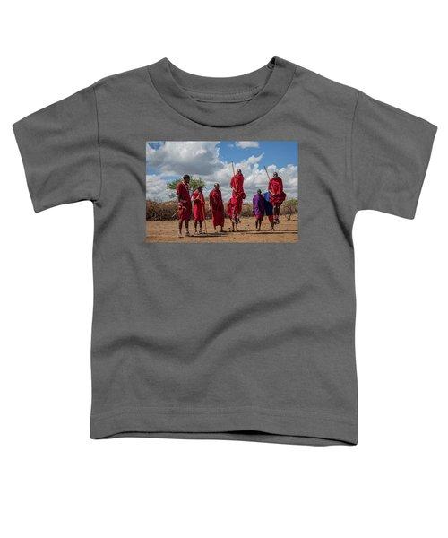 Maasai Adumu Toddler T-Shirt