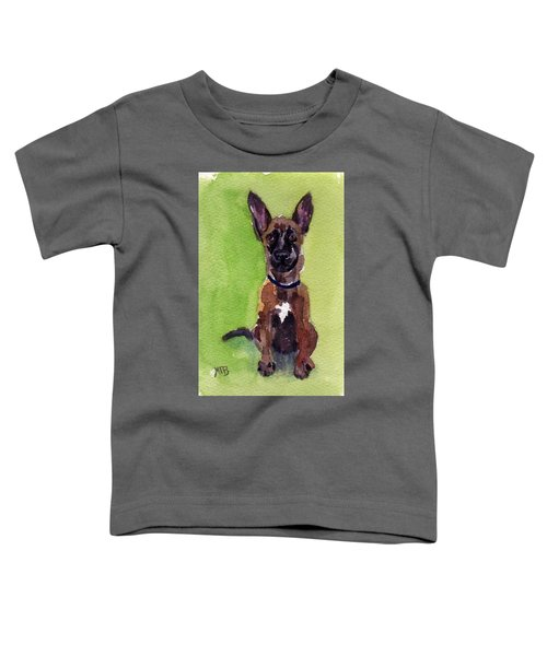 Malinois Pup 2 Toddler T-Shirt