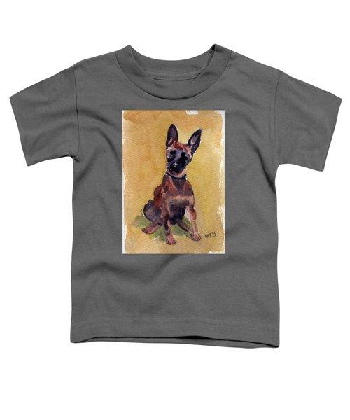 Malinois Pup Toddler T-Shirt