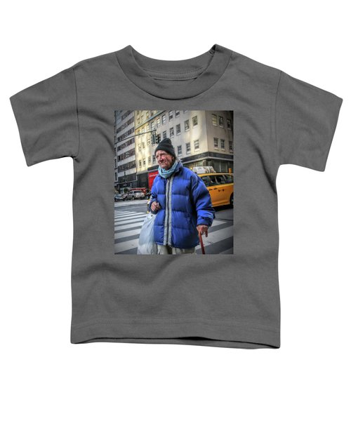 Man Vs. City Toddler T-Shirt