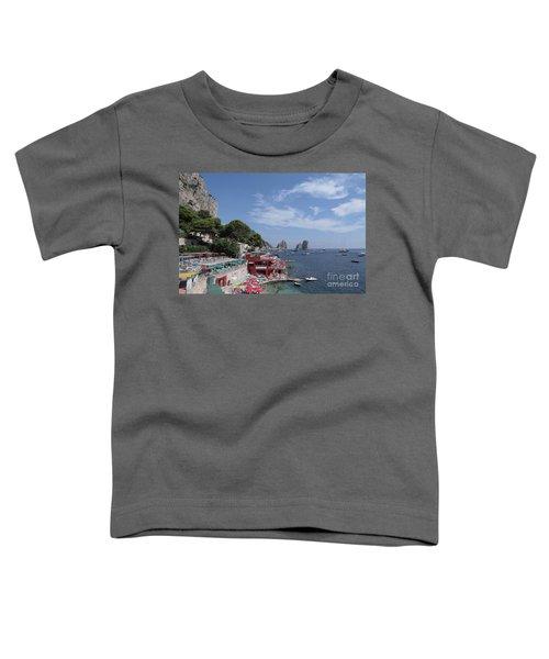 Marina Piccola Beach Toddler T-Shirt