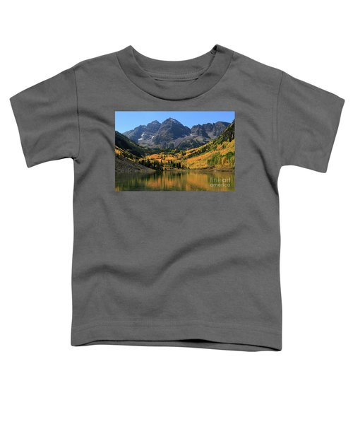 Maroon Bells In Fall Toddler T-Shirt