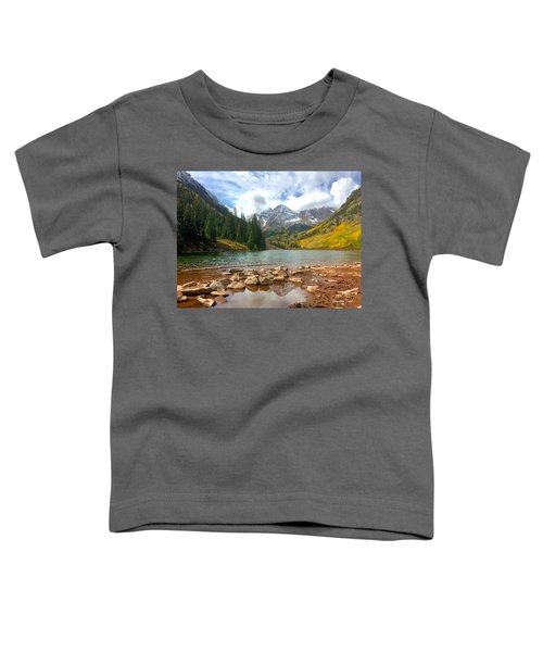 Maroon Bells Toddler T-Shirt