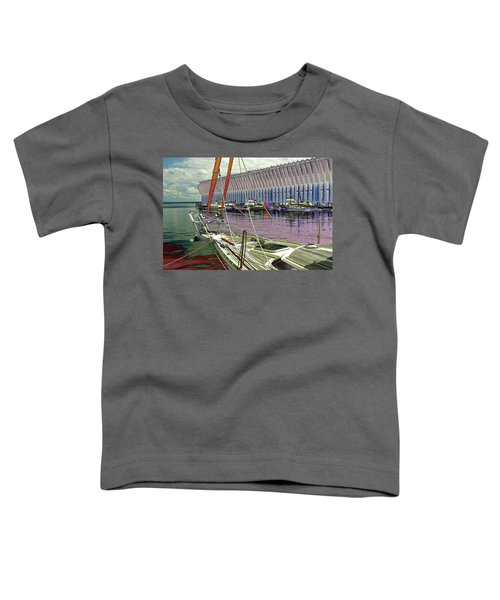 Marquette Ore Dock Lower Harbor. Toddler T-Shirt