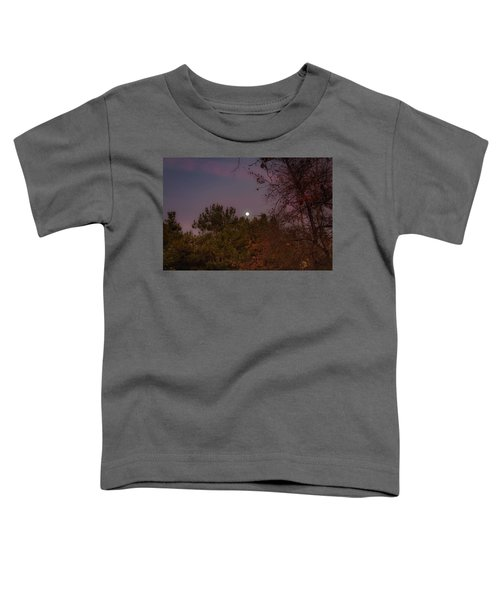Toddler T-Shirt featuring the photograph Marvelous Moonrise by Alison Frank