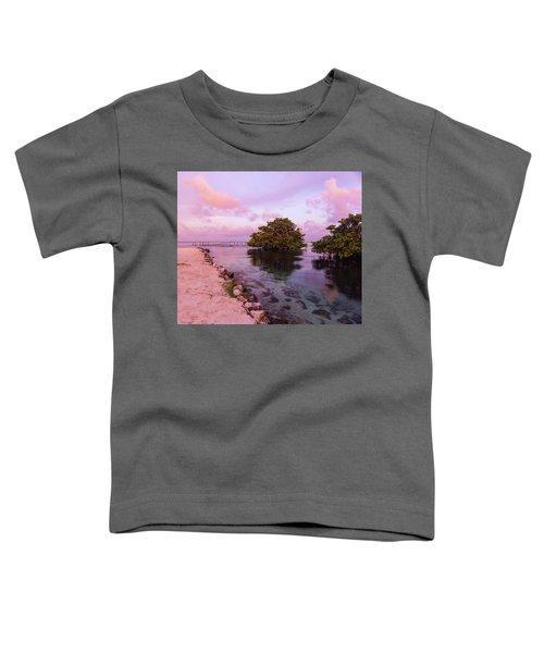 Mayan Sea Reflection Toddler T-Shirt