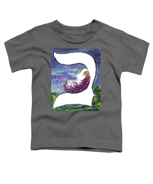 Meditating In The Beit B1 Toddler T-Shirt