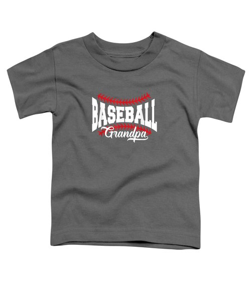 Mens Baseball Grandpa T-shirt Toddler T-Shirt