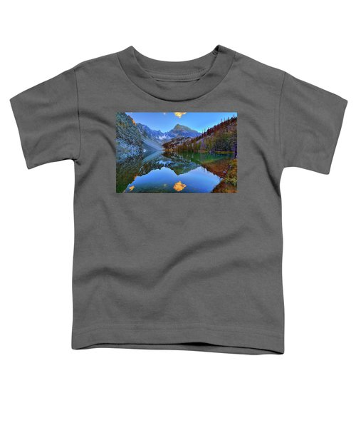 Toddler T-Shirt featuring the photograph Merriam Mirror by Greg Norrell
