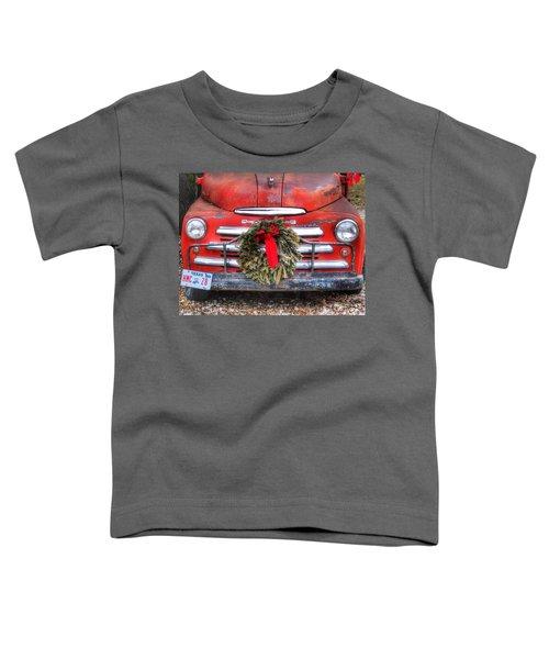 Merry Christmas Texas Toddler T-Shirt