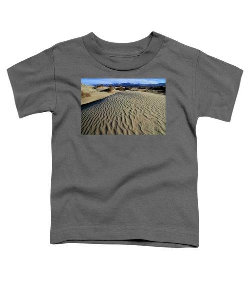 Mesquite Flat Sand Dunes Grapevine Mountains Toddler T-Shirt