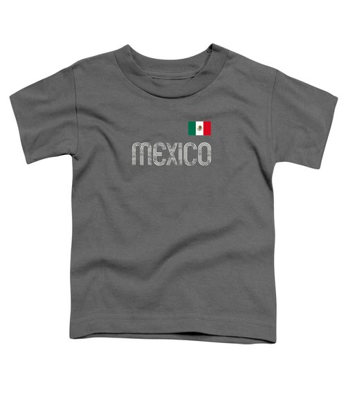 Mexico Football Soccer Retro Vintage Style T-shirt Toddler T-Shirt