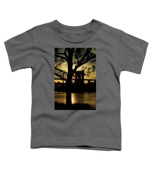 Mid Autumn Silhouette Toddler T-Shirt
