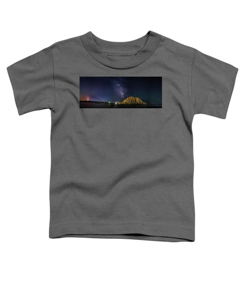 Milky Way Over Morro Rock Toddler T-Shirt