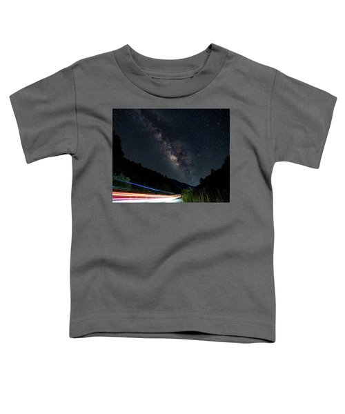 Milky Way Over The South Road Toddler T-Shirt