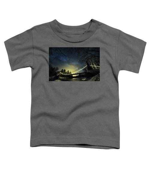 Milky Way Over The Wire Bridge Toddler T-Shirt