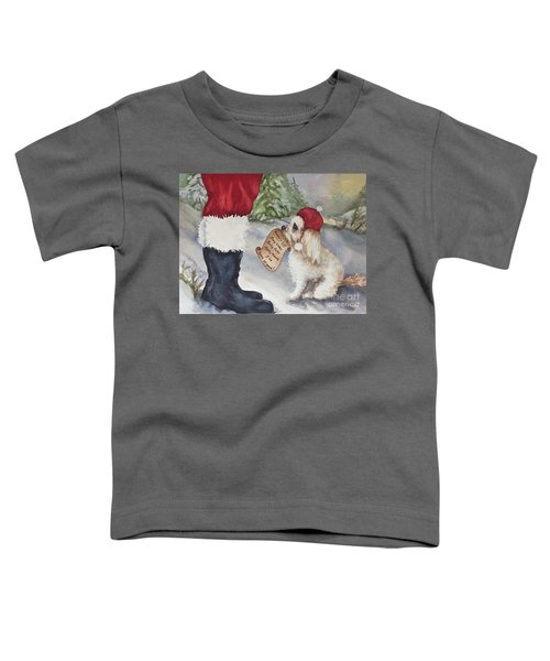Mocha's List Toddler T-Shirt