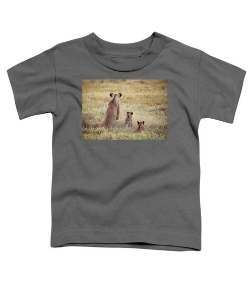 Mom And Cubs Toddler T-Shirt